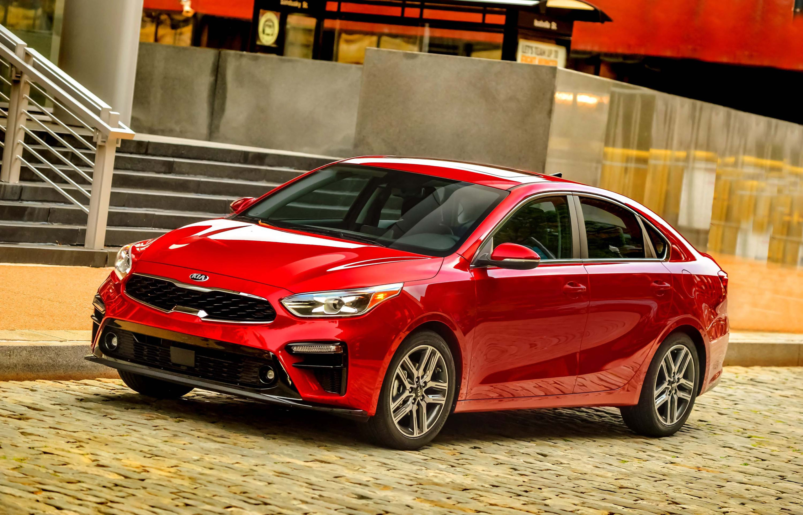 2019 Kia Forte First Drive: Compact Car Blues Wiped Away - 2022 Kia Forte Red Transmission Options, Gas Mileage