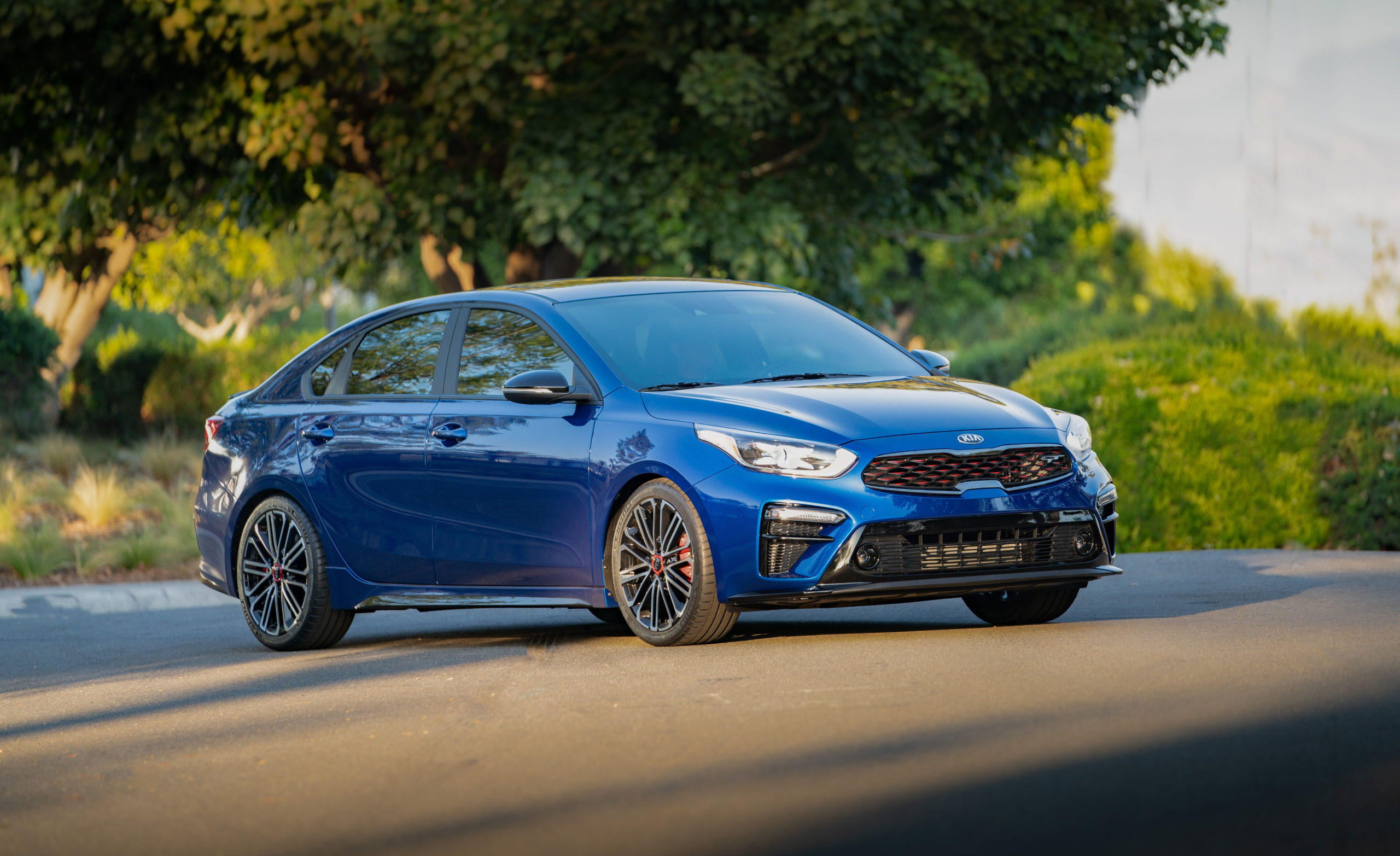 2020 Kia Forte Gt Gets 201 Turbocharged Horsepower For Under - 2022 Kia Forte Blue Release Date, Safety Feature