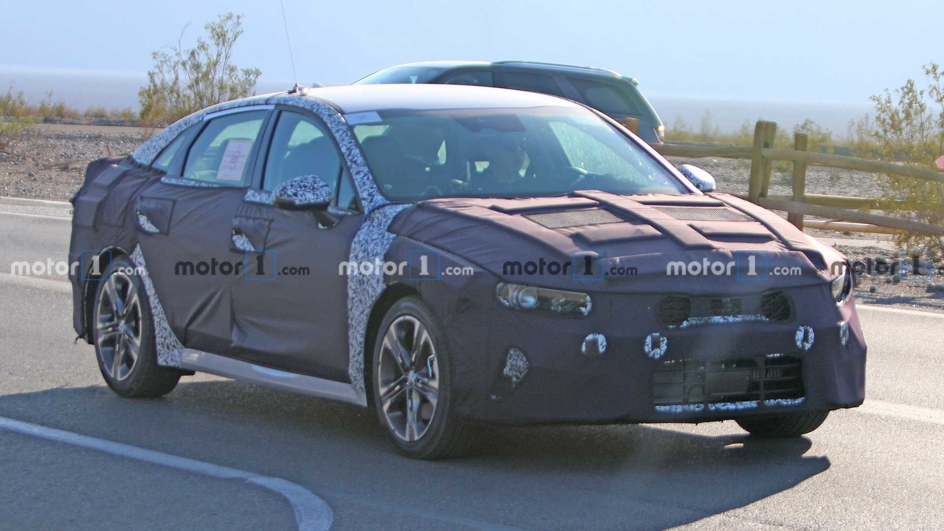 2021 Kia Optima Spied For First Time Testing In Death Valley - 2022 Kia Optima Usa Configuration Update, Interior Feature