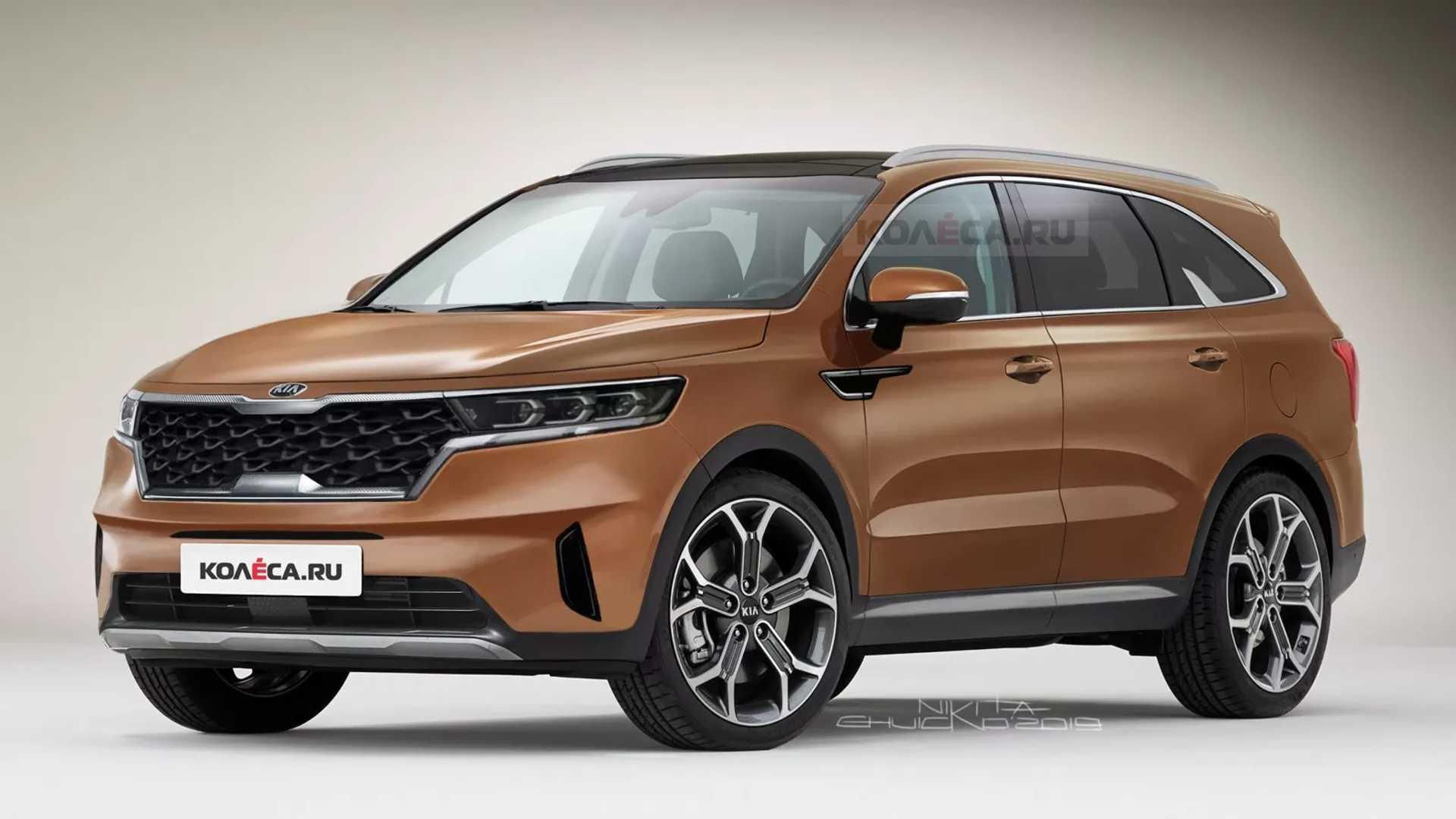 2021 Kia Sorento Rendered To Imagine Upcoming Crossover - 2022 Kia Sedona Interior, Specs Update, Rumor Release, Change