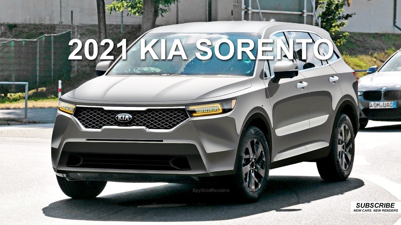 2021 Kia Sorento - Spy Shot Render Preview - Kia Sedona 2022 Uk Transmission Options, Release Date