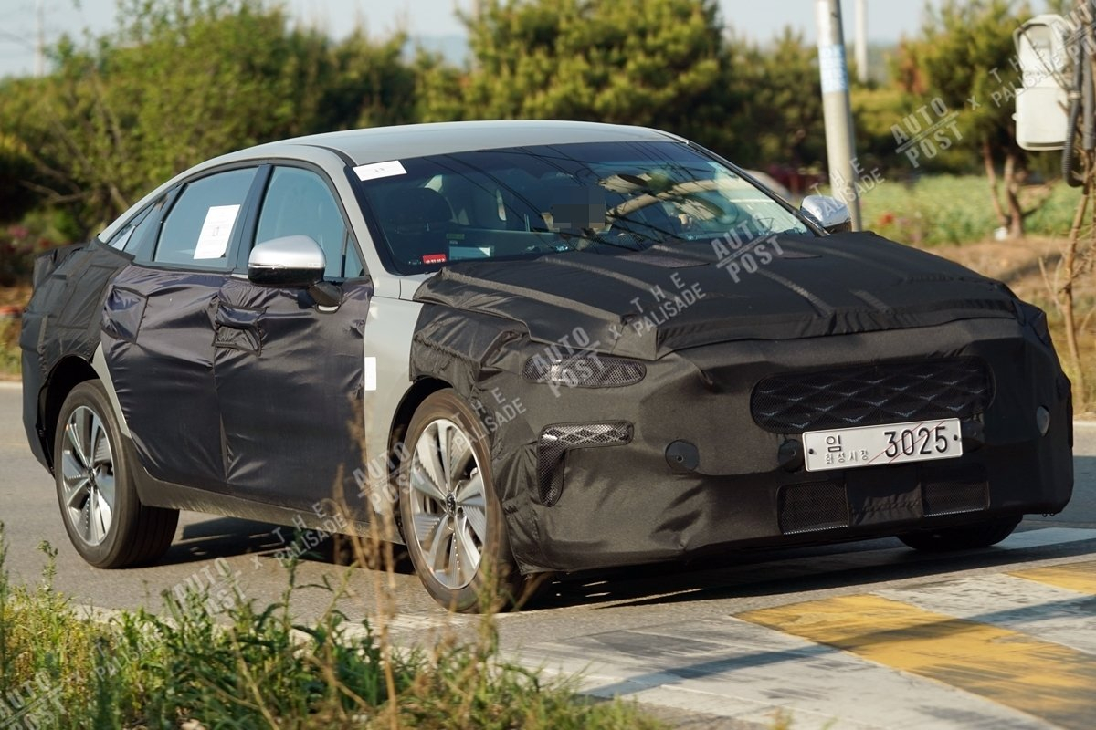2022 Kia K7 Caught In High Quality Pictures - Korean Car Blog - When Will 2022 Kia Cadenza Be Available