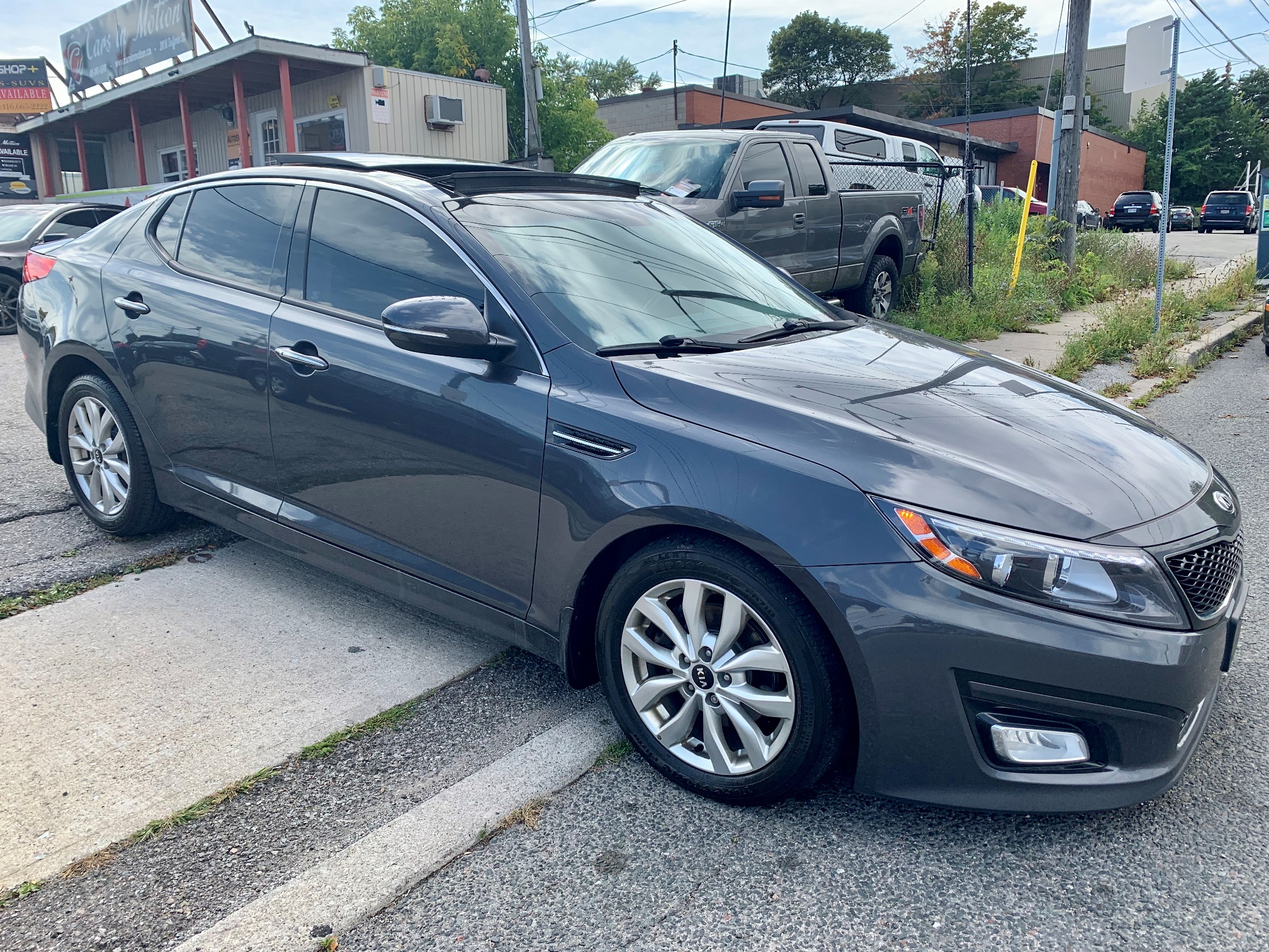 Kia Optima Ex Luxury 2015 | Nav | Rev Cam | Pano Roof - 2022 Kia Optima Grey Configurations, Safety Update, Specs