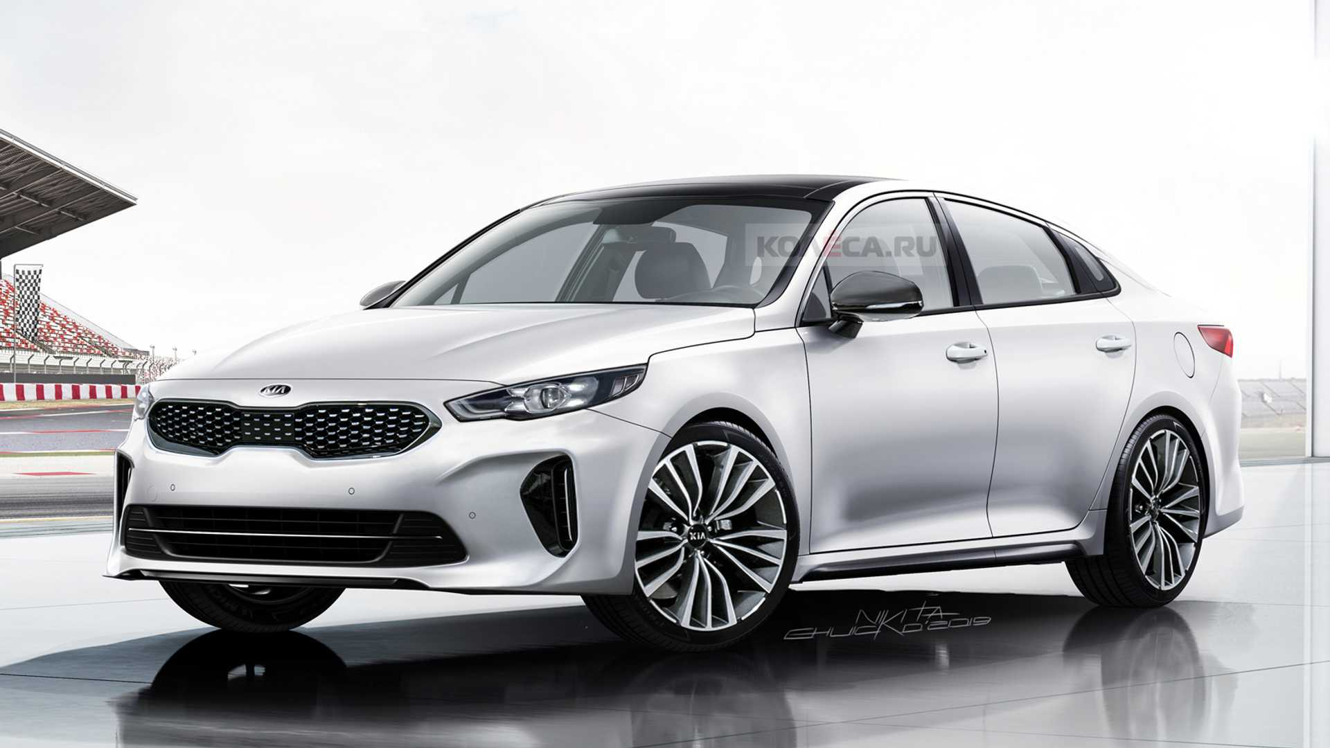 Kia Optima Gets Stylish Look In Next-Gen Rendering - 2022 Kia Optima White Concept, Rumor, Release Date